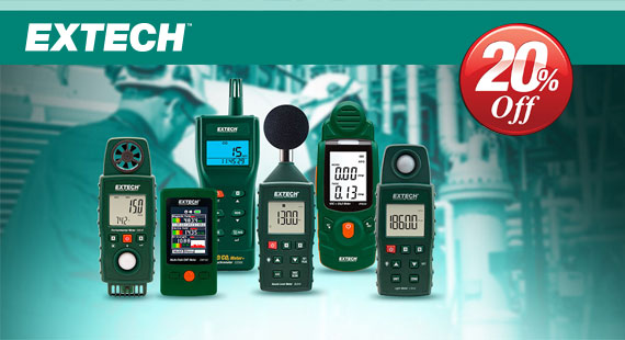 Limited Offer! - 20% korting - Extech
