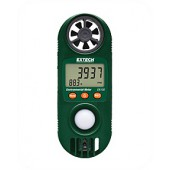 Compacte Hygro-Thermo-Anemometer met Lichtsensor