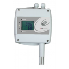 VLS serie Multifunctionele CO2/Temperatuur/Relatieve vocht sensor/regelaar met relais (2x) en Ethernet interface