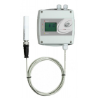 VLS serie Multifunctionele CO2 sensor/regelaar met externe meetprobe, relais (2x) en Ethernet interface